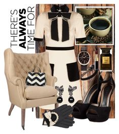"""""""Coffee Chic"""" by pretty8happy ❤ liked on Polyvore featuring Gucci, Marni, Eberhard & Co., Tom Ford, Chanel and John Lewis"""