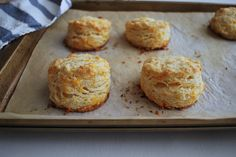 Tips for better biscuits: which flour to use, how to mix, and bakers' tricks for flakier, higher-rising results. Garlic Cheddar Biscuits, Tea Biscuits, Cheddar Cheese, Savoury Baking, Bread Baking, Flour Recipes, Pasta Recipes, Recipes Dinner, Bread Recipes