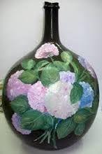 Resultado de imagen para garrafas cristal decoradas