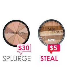 Get that sunkissed glow for less this summer. N.Y.C is the perfect dupe to Smashbox.