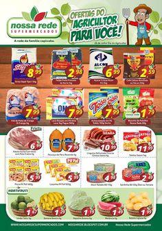 Encartes de Supermercados: Encarte NossaRede - válido até 01/08