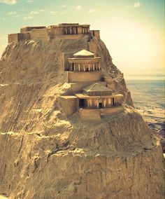How Masada must have looked like during Herod's time