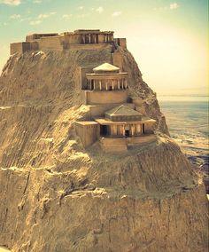 Cómo debe haber sido Masada durante la época de Herodes