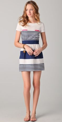 someone should take me on a boat. on which i will wear this dress.