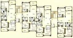 apartment unit plans | Apartments Typical Floor Plan Apartments Ground Floor Stilted Parking ...