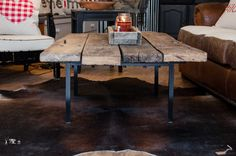 Handmade coffee table - olde sciota house of design
