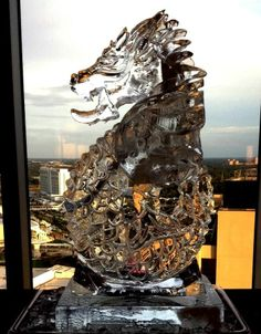 Ice Dragon ice luge