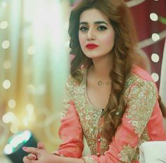 Visit the post for more. Pakistani Bridal Wear, Pakistani Wedding Dresses, Pakistani Dress Design, Bridal Dresses, Wedding Hijab Styles, Prettiest Actresses, Mehndi Brides, Special Girl, Pakistani Actress