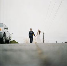 these two thoughtful creatives brought out the best in me... and if i remember correctly i was quite precariously squatting on a hill in west seattle in the middle of the street to get this shot! and while very pregnant! josie & torin on the blog... #hasselblad #kodak #portra400 #film #catherineabeggphotography