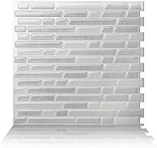 FashionWall In X In W X In H Toned White Tile Board Need - Aquatile lowes