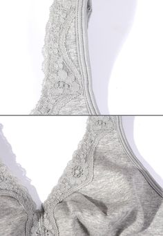 Vgplay Wire Free Comfort Cotton Bras for Women Plus Size Full Figure Unpadded Sleep Bra, Urban Street Style, Street Styles, Plus Size Bra, Full Figured, Crop Tops, Tank Tops, Plus Size Women, Camisole Top, Lace