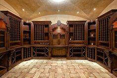 Climate Controlled Wine Cellar   New Buckingham Chateau   Alpine NJ