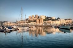 Early evening Reflections at Torquay Harbour 2 - Torbay