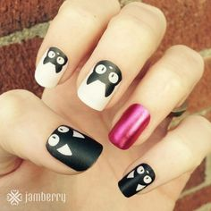 So purrrfect for Halloween. 'Double Trouble' mixed with 'Wild Child' makes for a chic and different look that will definitely get you noticed!   https://torpal.jamberry.com/product/double-trouble