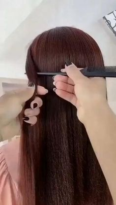 Easy Hairstyles For Long Hair, Straight Hairstyles, Girl Hairstyles, Wedding Hairstyles, Hairstyles Videos, School Hairstyles, Office Hairstyles, Anime Hairstyles, Stylish Hairstyles