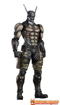 Appleseed Alpha Play Arts Kai Action Figure Briareos Hecatonchires 29 cm  ( Square - Enix )