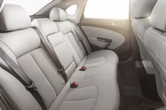 Buick Verano Rear Seat Featuring Titanium Leather Color Palette