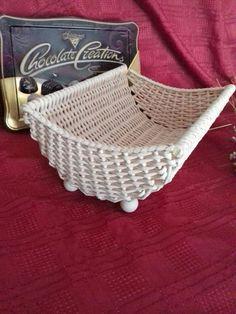 Плетение из газет / Weaving from newspapers