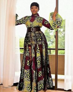 Plain and Pattern Ankara Styles for African Queen to Rock