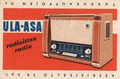 finnish matchbox label