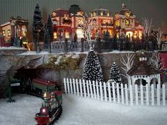 Foam Base Christmas Village