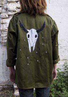 Skull jacket
