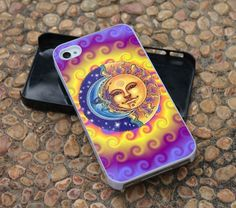 Moon And Sun2 For iPhone 4 Case, iPhone 4s, iPhone 5, Samsung Galaxy S3 I9300 Case and Samsung Galaxy S4 I9500 Case