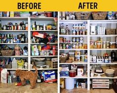 kitchen deisgn,home design,home Declutter Your Home, Organizing Your Home, Home Organization Hacks, Kitchen Organization, Organizar Closet, Acrylic Containers, Lampe Retro, Bomb Shelter, Fabric Drawers