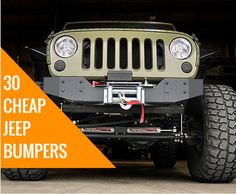 Do cheap Jeep bumpers exist? We wanted to answer this age-old question once and…