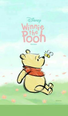 Wallpaper Disney Desktop Winnie The Pooh Ideas Winnie The Pooh Drawing, Cute Winnie The Pooh, Winne The Pooh, Winnie The Pooh Friends, Cute Disney Wallpaper, Wallpaper Iphone Disney, Bear Wallpaper, Cartoon Wallpaper, Disney Lines