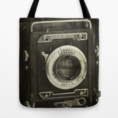 1949 Century Graphic Camera Photo Tote Bag Tote by CindiRessler