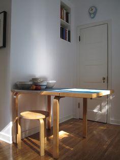 Vintage Alvar Aalto breakfast table   Ready for the House