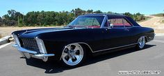 """1965 Buick Riviera Gran Sport 6, named by GQ magazine as one of the """"Most Stylish Cars of the Last 50 Years."""""""