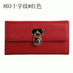 Michael Kors Wallet red color