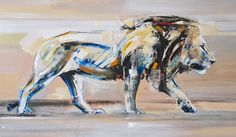 Lion, 120 x oil on linen by Everett Duarte Wild Life, Moose Art, Lion, Africa, Artist, Painting, Animals, Abstract Pictures, Canvas