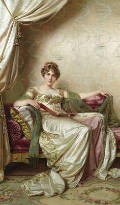 """""""ELEGANTE"""" 1891    Frédéric Soulacroix (1858-1933),"""