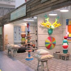 Totemism: Memphis meets Africa  at Design Indaba Expo