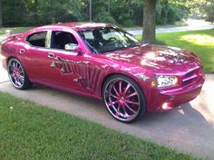 "black and pink Dodge charger | 2006 Dodge Charger ""ICE CREAM PAINTJOB"" - shreveport, LA owned by ..."