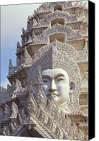 Bangkok, Wat Ratchapradt Photograph by Bill Brennan - Printscapes - Bangkok, Wat Ratchapradt Fine Art Prints and Posters for Sale