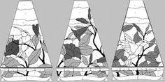 Resultado de imagen de lamps stained glass patterns
