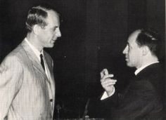 Stockhausen and Boulez