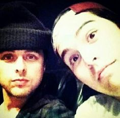 Billie and his hot son, Joey..,  But Joey's so fucking hottt.