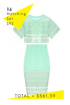 How To Replace Your Summer Wardrobe #refinery29  http://www.refinery29.com/summer-outfits#slide14