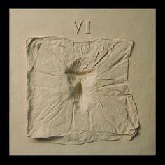 Stations of the Cross 6, 2005 by Virginia Maksymowicz - Mixed Media 61 x 61 cm;  20 cm deep unframed http://www.absolutearts.com/pdf/m/maksymo/485189.pdf