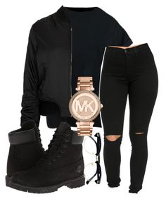 """IG kingrabia"" by rabiamiah on Polyvore featuring Topshop, Timberland, Topman and Michael Kors"