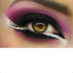 stage eye makeup - Google Search