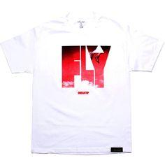 Sneaktip Fly Tee - Retro 4 Mars (white) SP290787WHT - $32.00