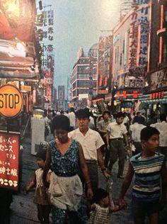 Tokyo, Japan in 1964