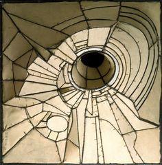 "Lee Bontecou    Untitled    1959    Canvas and metal    20"" x 20"" x 7"""