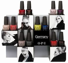 OPI Germany Collection - See the press release & promo pictures on SwatchAndLearn.com